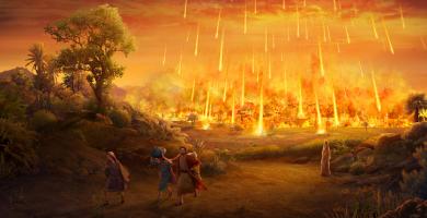 """La nasa confirmo que Sodoma y Gomorra fueron arrasadas """"Por un bombardeo cósmico"""""""